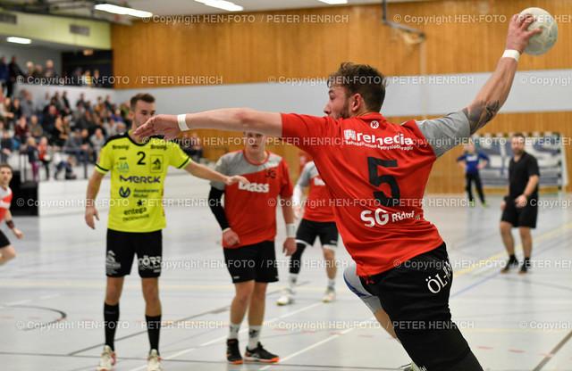20191201 Handball MSG Rossdorf Reinheim - HSG Bieberau Modau 2 copyright by HEN-FOTO | 20191201 Handball Männer Landesliga MSG Rossdorf Reinheim - HSG Bieberau Modau 2 (27:28) Mi 5 Kai Stuckert (RR) copyright by HEN-FOTO Foto: Peter Henrich