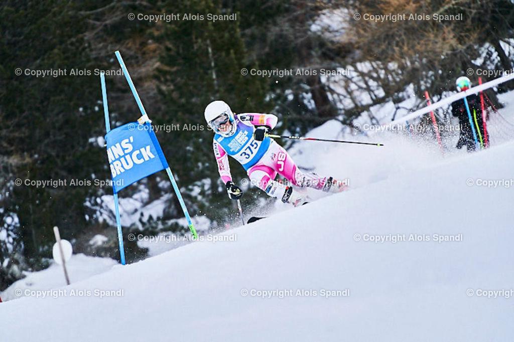 ALS5537_WWMG_GS-II_C | (C) FotoLois.com, Alois Spandl, WinterWorldMastersGames 2020 Innsbruck, Giant Slalom-II Gruppe C Damen, Patscherkofel Olympiaabfahrt, Mi 15. Jänner 2020.