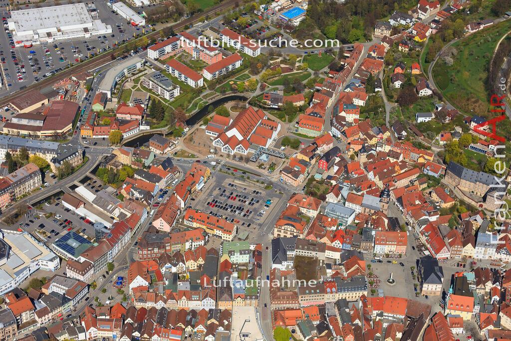 luftbild-kulmbach-2016-6450 | Luftbild von  Kulmbach - Luftaufnahme wurde 2016 von https://frankenair.de mittels Flugzeug (keine Drohne) erstellt - die Geschenkidee