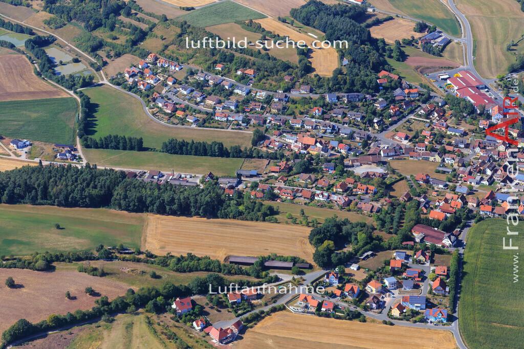 muechsteinach-2015-2226 | Luftbild von  Muechsteinach - Luftaufnahme wurde 2015 von https://frankenair.de mittels Flugzeug (keine Drohne) erstellt - die Geschenkidee