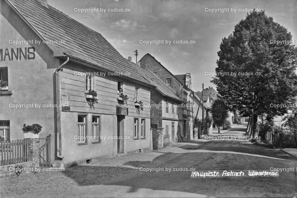 Asbach Hauptstrasse Gasthaus Manns 1936_1
