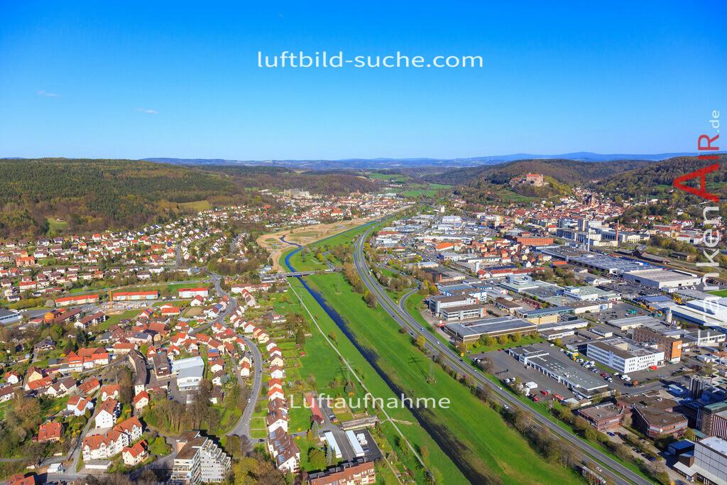 kulmbach-2016-3199   Luftbild von  Kulmbach - Luftaufnahme wurde 2016 von https://frankenair.de mittels Flugzeug (keine Drohne) erstellt - die Geschenkidee