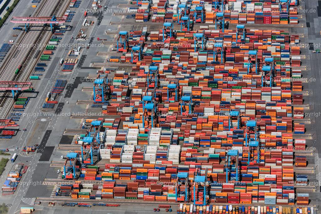 Hamburg Altenwerder_CCA_HHLA_ELS_0690110517 | Hamburg - Aufnahmedatum: 11.05.2017, Aufnahmehöhe:  m, Koordinaten:  - , Bildgröße: 6790 x  4532 Pixel - Copyright 2017 by Martin Elsen, Kontakt: Tel.: +49 157 74581206, E-Mail: info@schoenes-foto.de  Schlagwörter:Altenwerder,HHLA,CTA,Container Terminal,Container,Automatisiert,Luftbild, Luftbilder,