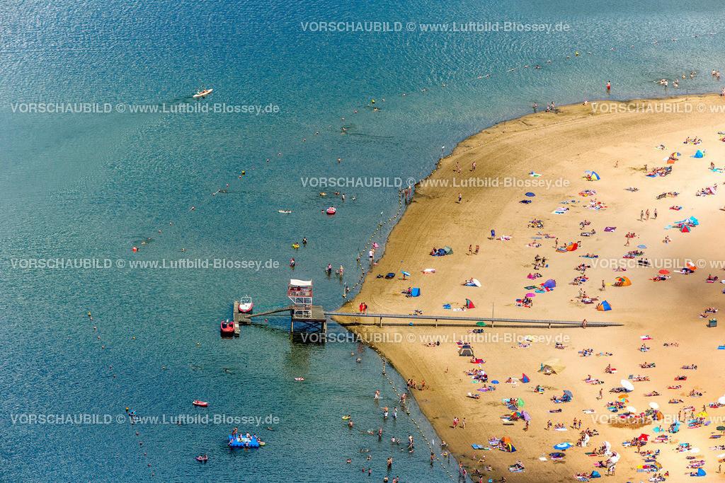 Haltern13081703 | Badesee, Halterner Stausee, Halterner See mit Seebad und Seeterasse, Luftbild von Haltern am See