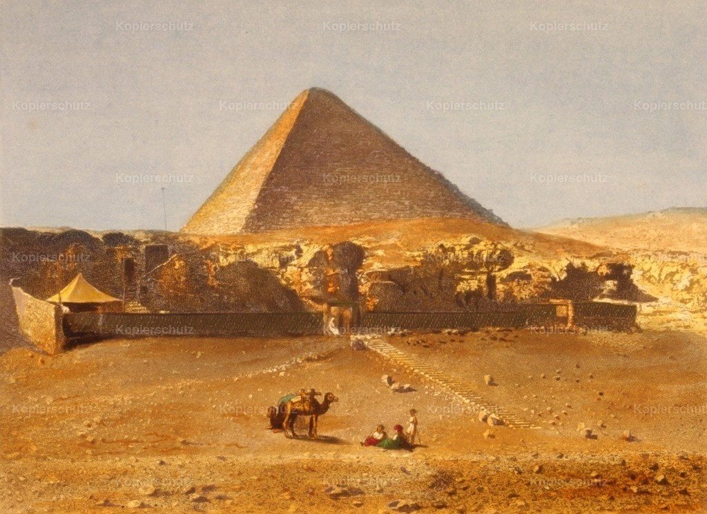 Lerebours_ No_l Paymal (1807-1873) - Pyramid of Cheops 1842