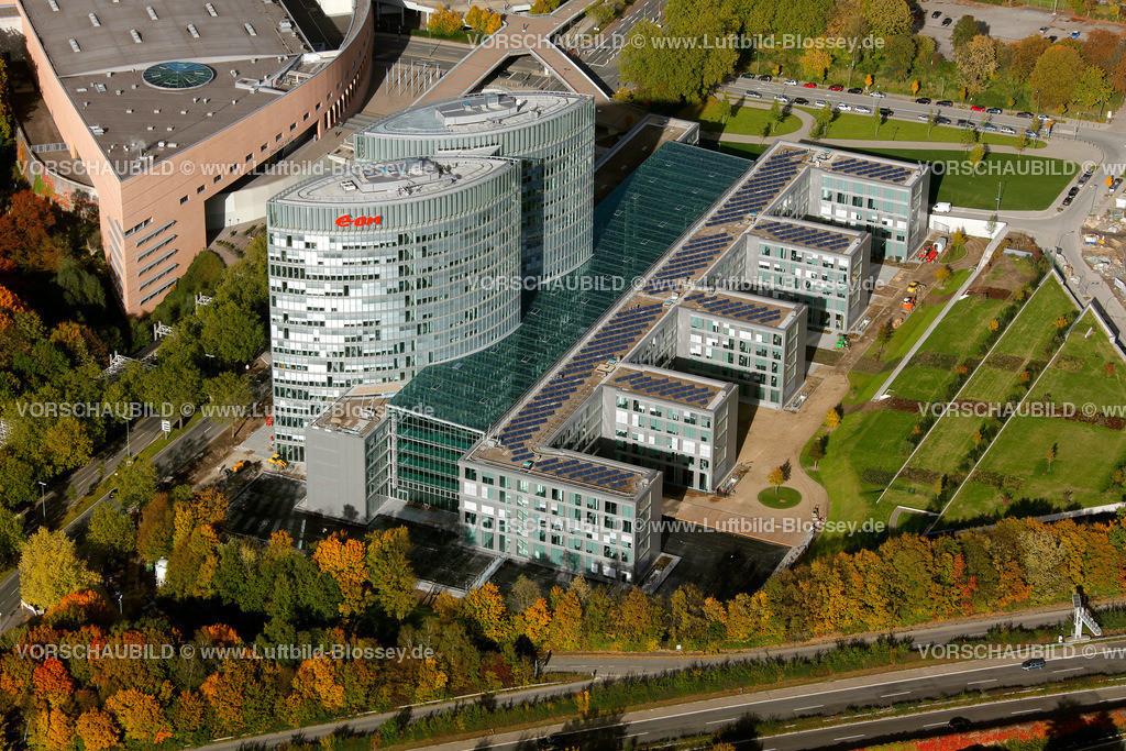 ES10103989 | HV, Hauptverwaltung EON Ruhrgas Essen, Buerohochhaus an der GRUGA Essen-Ruettenscheid, Energiekonzern, GASPROM, EON Ruhrgas,  Essen, Ruhrgebiet, Nordrhein-Westfalen, Germany, Europa