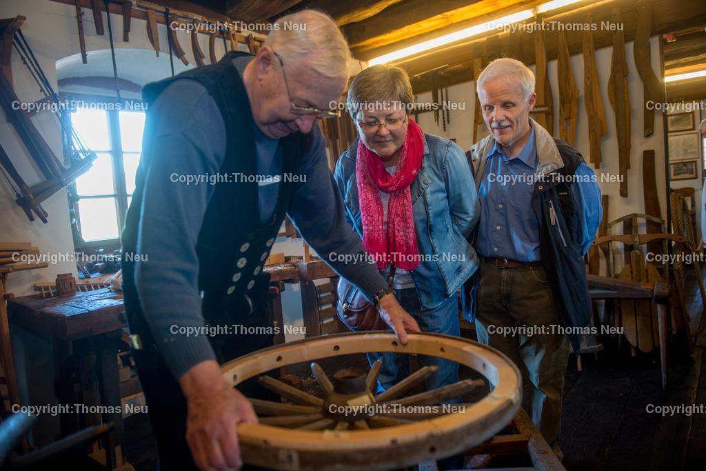 Brauchtumstage-43 | Lindenfels, Brauchtumstage, Wagner Ladislaus Jantschek (links), ,, Bild: Thomas Neu