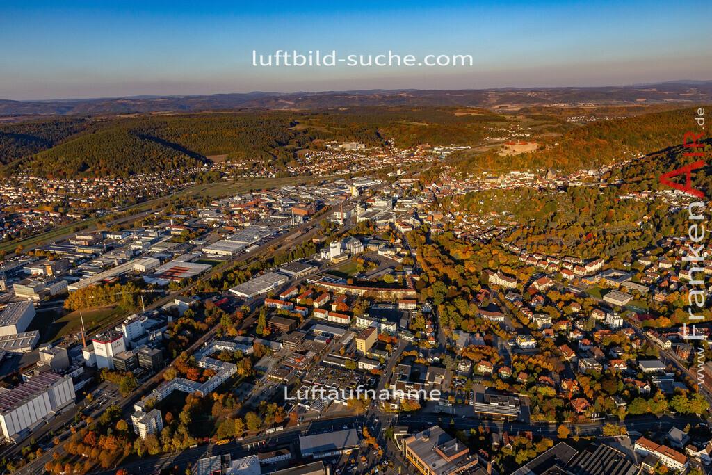 kulmbach-18-2782   aktuelles Luftbild von  Kulmbach - Luftaufnahme wurde 2018 von https://frankenair.de mittels Flugzeug (keine Drohne) erstellt.