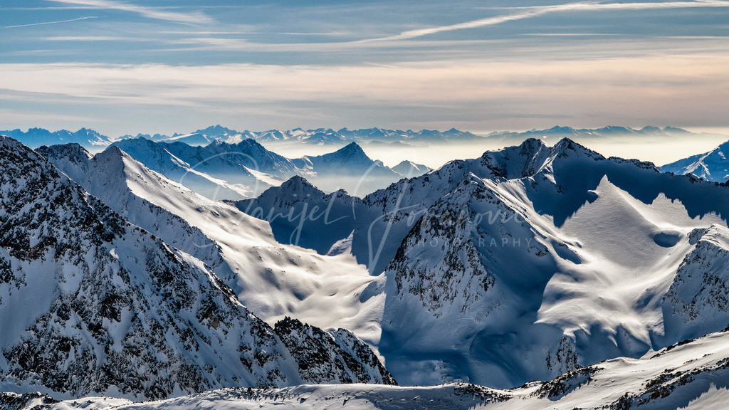 Stubaier Gletscher | Blick vom Stubaier Gletscher Richtung Südtirol