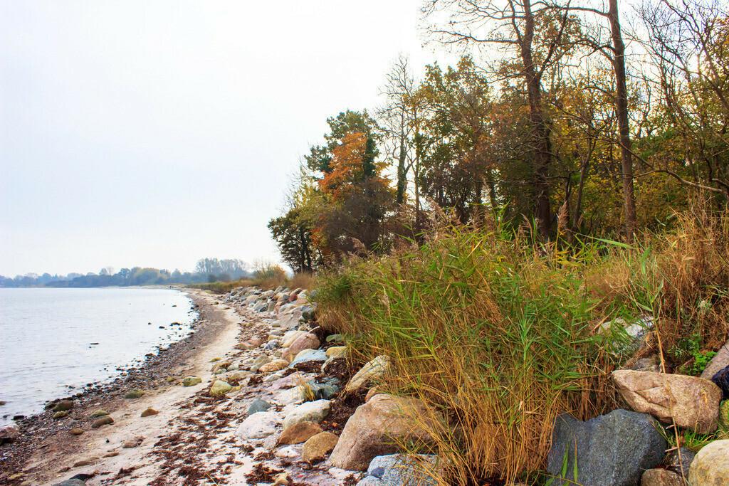 Strand in Ohrfeldhaff | Strand in Ohrfeldhaff im Herbst