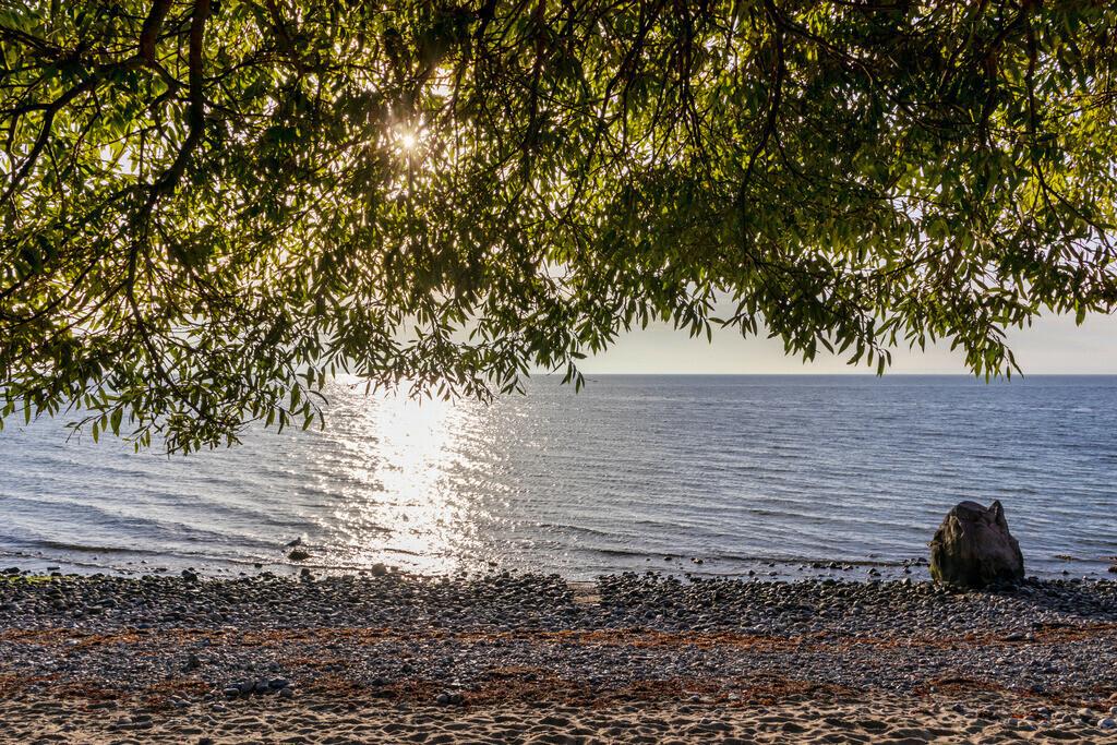 Strand an der Ostsee   Sonnenschein an der Ostsee