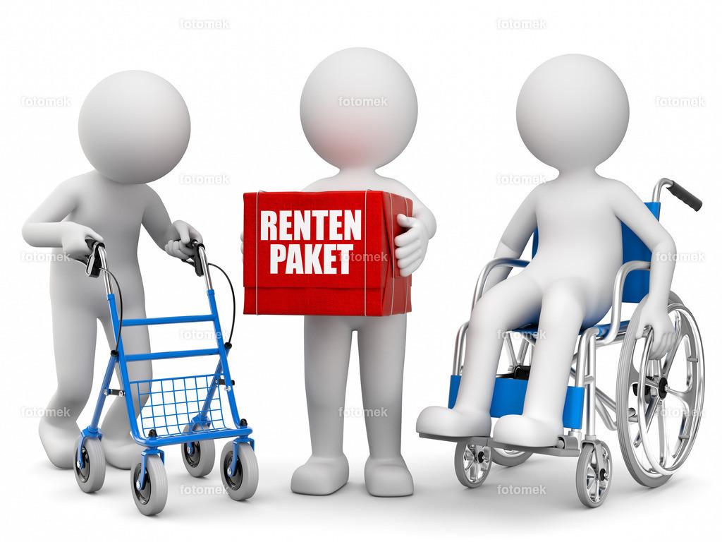 Rentenpaket Altersvorsorge