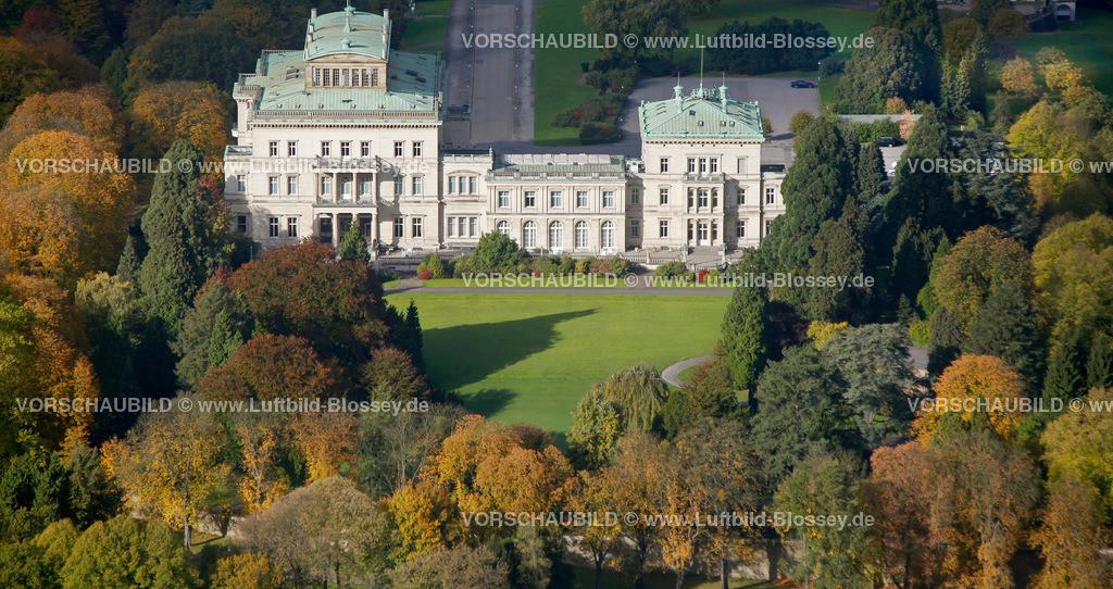 ES10104049 | Villa Huegel im Herbstwald,  Essen, Ruhrgebiet, Nordrhein-Westfalen, Germany, Europa