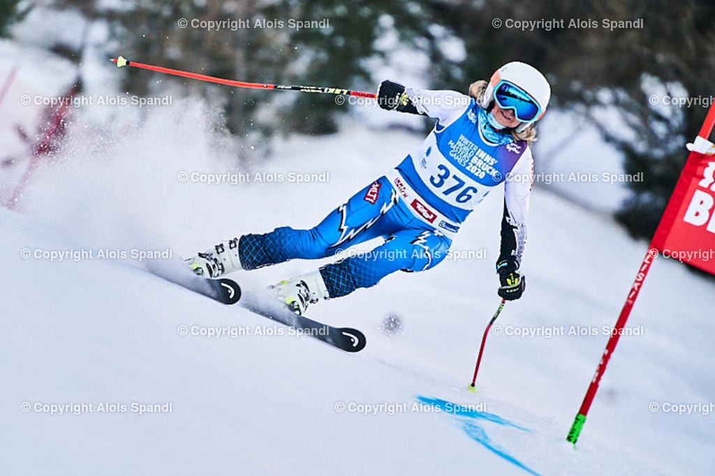 ALS5556_WWMG_GS-II_C   (C) FotoLois.com, Alois Spandl, WinterWorldMastersGames 2020 Innsbruck, Giant Slalom-II Gruppe C Damen, Patscherkofel Olympiaabfahrt, Mi 15. Jänner 2020.