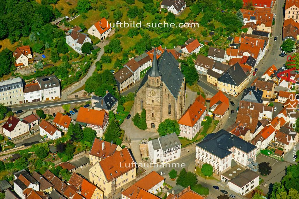 kirche-kulmbach-2008-472 | Luftbild von Kirche Kulmbach - Luftaufnahme wurde 2008 von https://frankenair.de mittels Flugzeug (keine Drohne) erstellt - die Geschenkidee