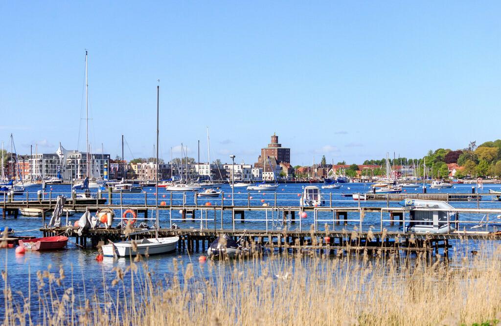 Hafen in Eckernförde | Hafen in Eckernförde im Frühling