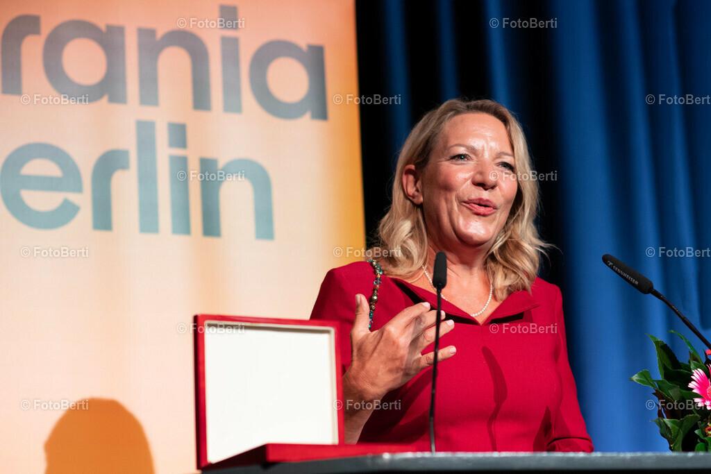 Verleihung der Urania-Medaillie | Preisträgerin : Meeresbiologin und TiefseeforscherinProf. Dr. Antje Boetius