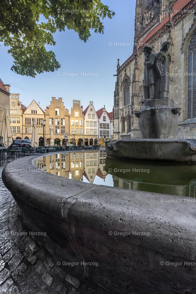 Lambertibrunnen  | Lambertibrunnen in Münster