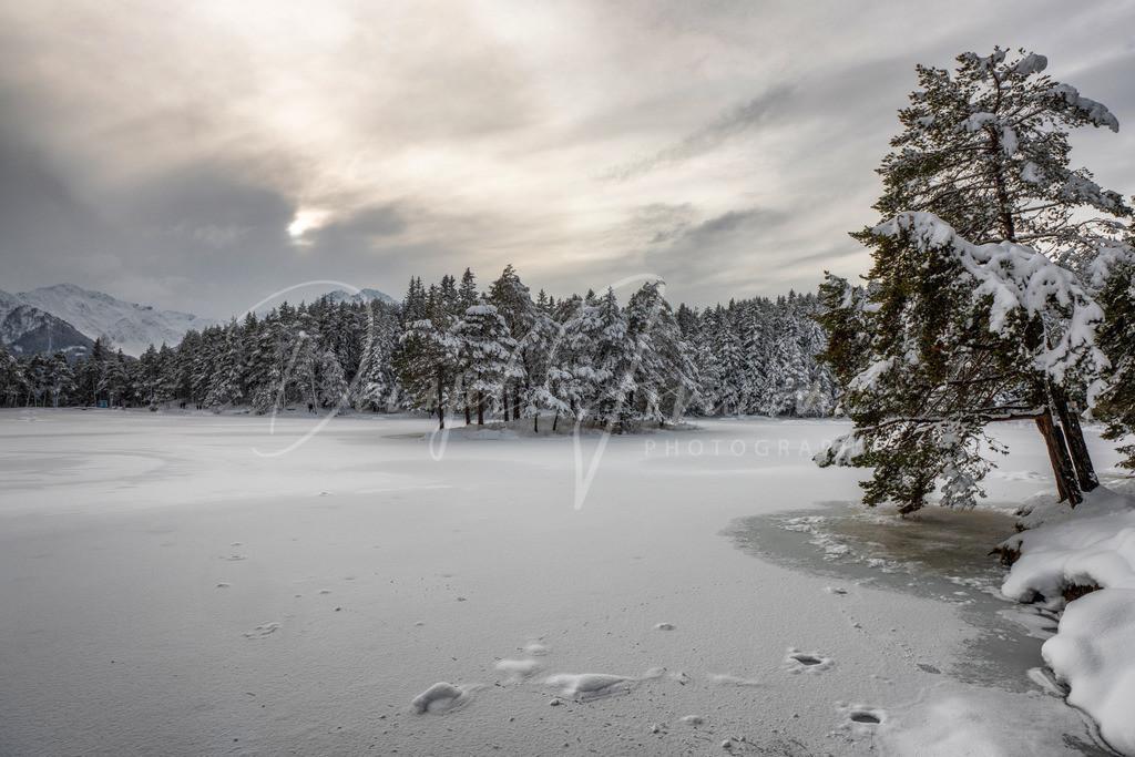 Wintertraum   Winter am Möserer See