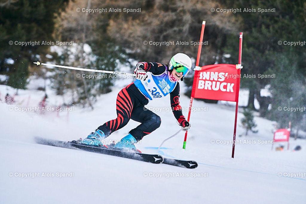 ALS5618_WWMG_GS-II_C | (C) FotoLois.com, Alois Spandl, WinterWorldMastersGames 2020 Innsbruck, Giant Slalom-II Gruppe C Damen, Patscherkofel Olympiaabfahrt, Mi 15. Jänner 2020.