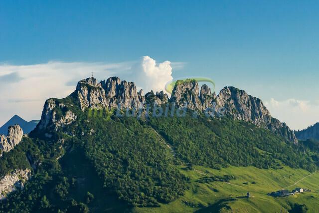 luftbild-kampenwand-bruno-kapeller-04 | Luftaufnahme von der Kampenwand 1669m