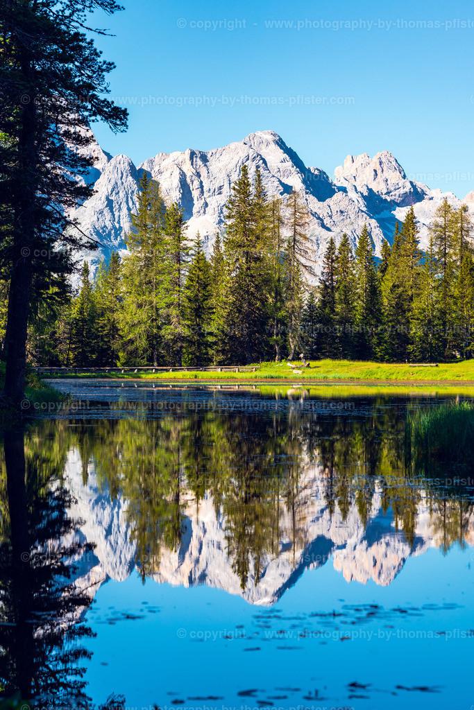 Lago di Antorno am Morgen