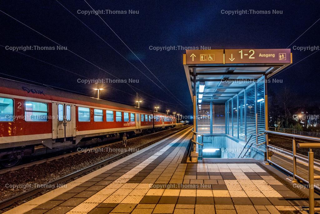 Bahnhof-50 | Bensheim,Bergstrasse bei nacht, Bensheim Bahnhof, ,, Bild: Thomas Neu