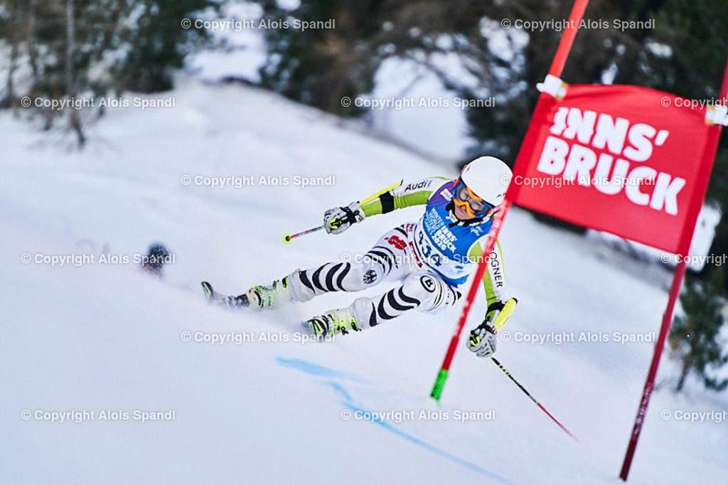 ALS5839_WWMG_GS-II_C   (C) FotoLois.com, Alois Spandl, WinterWorldMastersGames 2020 Innsbruck, Giant Slalom-II Gruppe C Damen, Patscherkofel Olympiaabfahrt, Mi 15. Jänner 2020.