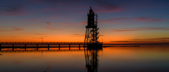 Leuchtturm Obereversand | max. Größe bei 200dpi = 165x70cm