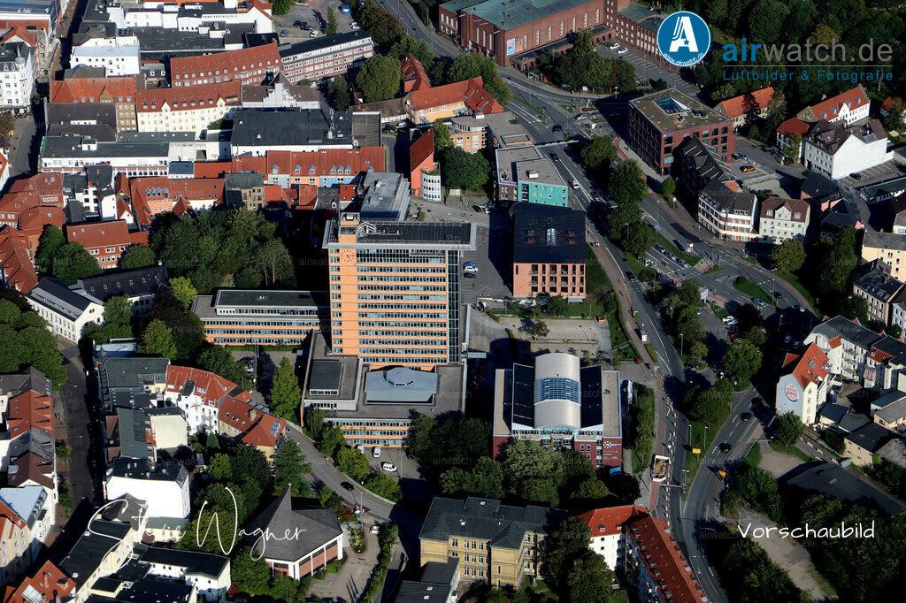 Luftbild Flensburg, Rathausplatz 1   Flensburg, Rathausplatz • max. 6240 x 4160 pix