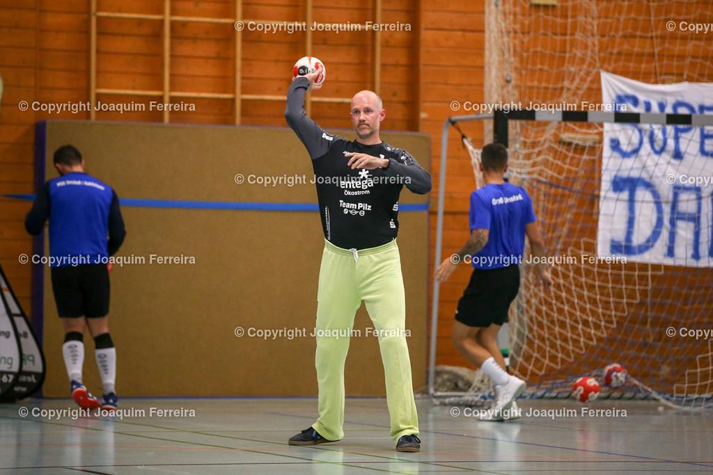 190913_msg_0003 | despor 2019.09.13 HHV Handball Männer Oberliga MSG Umstadt/Habitzheim gegen TuS Dotzheim emspor, emonline, despor,  v.l.,  Marcel Bolling (MSG Umstadt/Habitzheim) Foto: Joaquim Ferreira