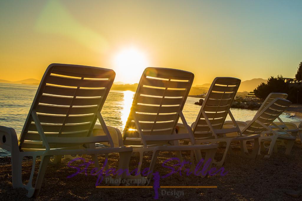 Relaxter Sonnenuntergang