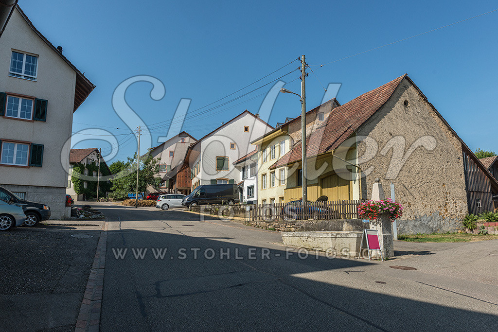 Historische Häuser, Rünenberg (BL) | Historische Häuser im Unterdorf, Rünenberg im Kanton Baselland.
