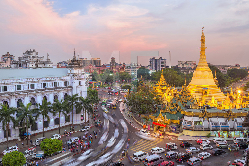MW1117-8819 | Sule-Pagode in Yangon