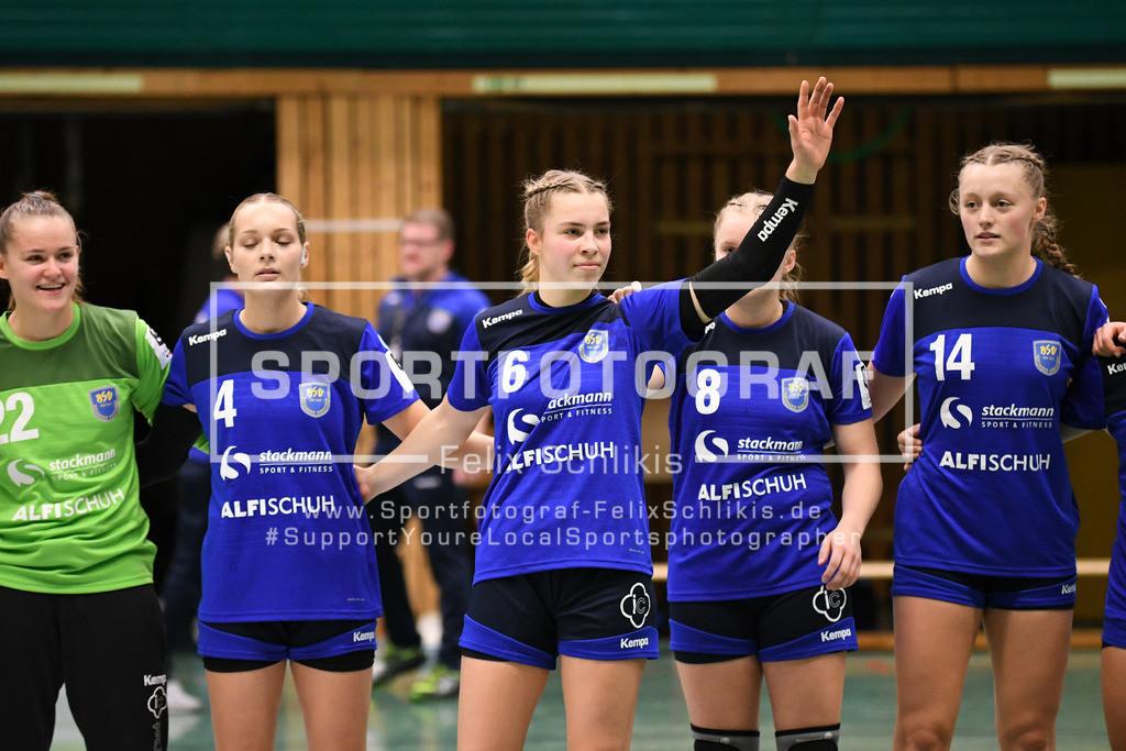 Handball I Bundesliga-Quali (wjA) I  Buxtehuder SV (wjA)- SG Hamburg-Nord I 11.10.2020_00007 | ; Jugend Bundesliga (wjA) I Buxtehuder SV (wjA)- SG Hamburg-Nord am 11.10.2020 in Buxtehude  (Sporthalle Kurt-Schuhmacher Strasse), Deutschland
