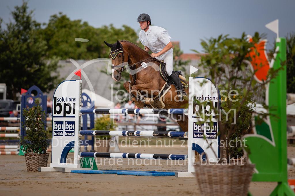 190801_BST_Springpferde-M_5-7J-407 | Braker Sommerturnier 2019 Springpferdeprüfung Kl. M* 5-7jährige Pferde
