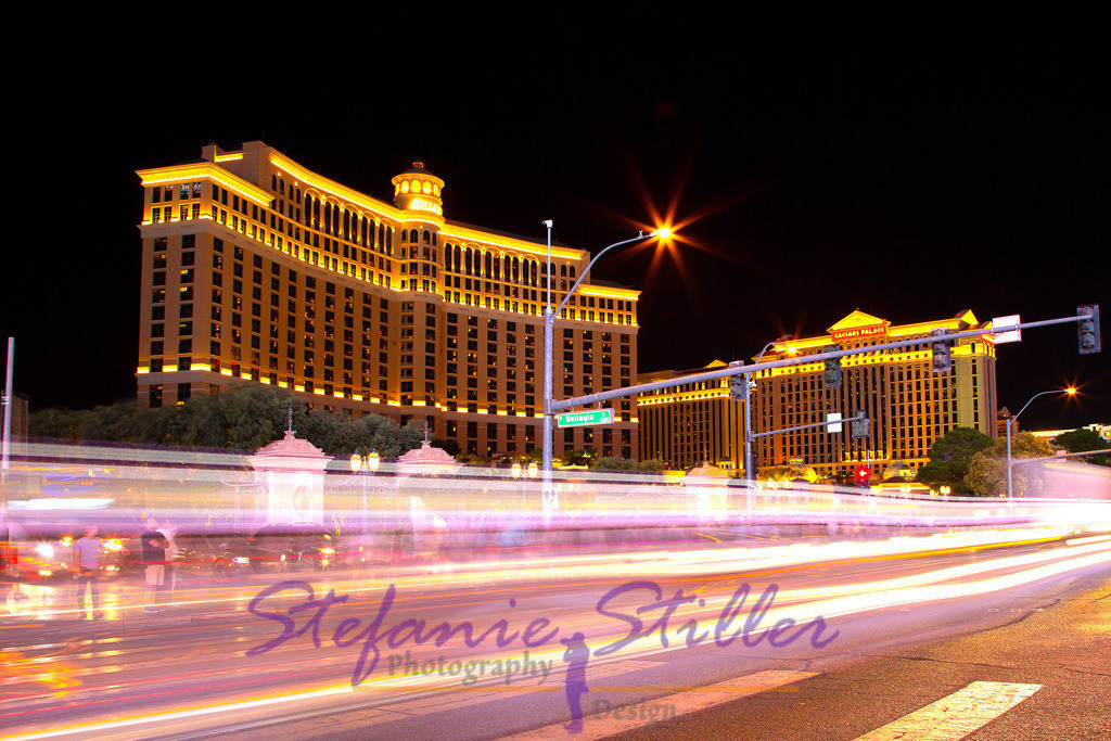 Bellagio by night | Lights of Las Vegas