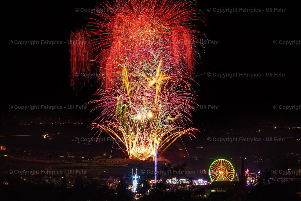Vormarkt-Feuerwerk von Seebach