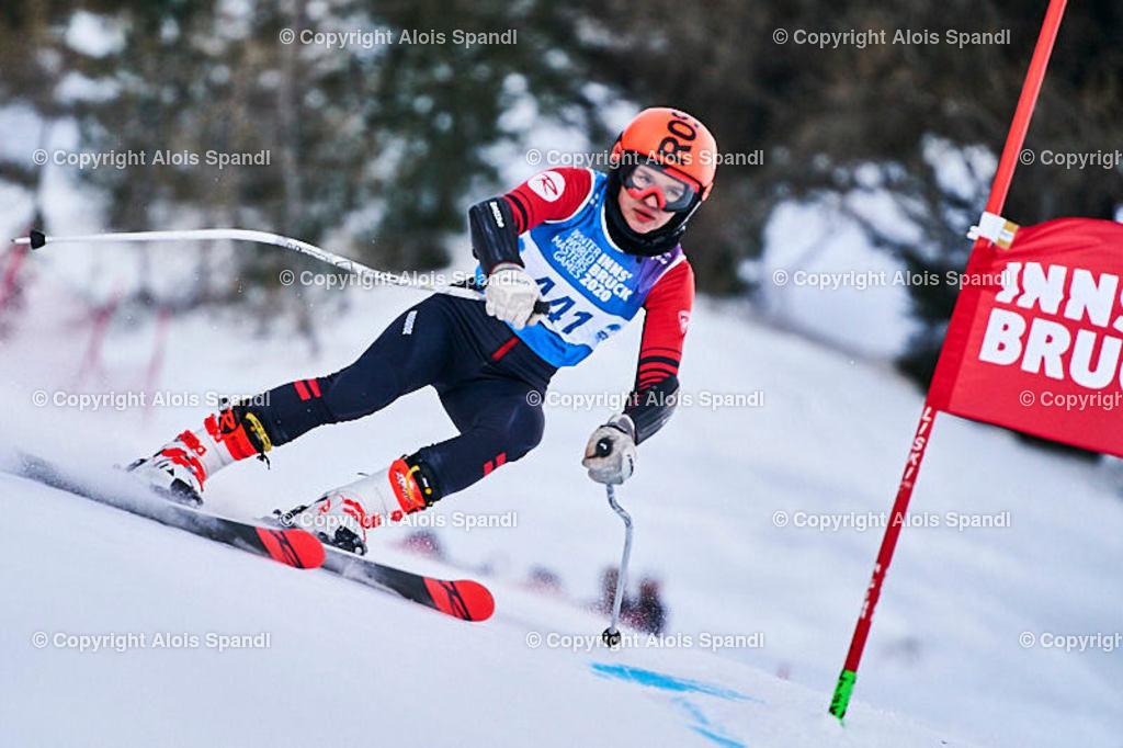 ALS5880_WWMG_GS-II_C | (C) FotoLois.com, Alois Spandl, WinterWorldMastersGames 2020 Innsbruck, Giant Slalom-II Gruppe C Damen, Patscherkofel Olympiaabfahrt, Mi 15. Jänner 2020.