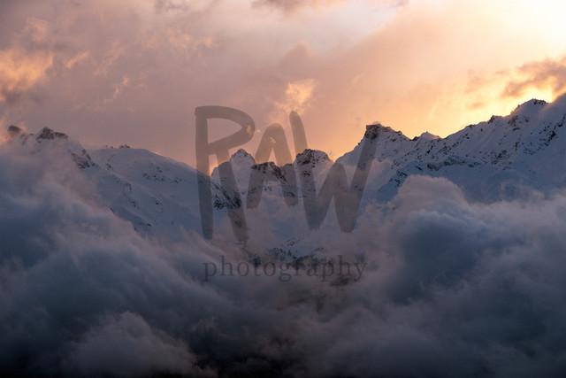 Morgenstimmung Blick Richtung Binntal