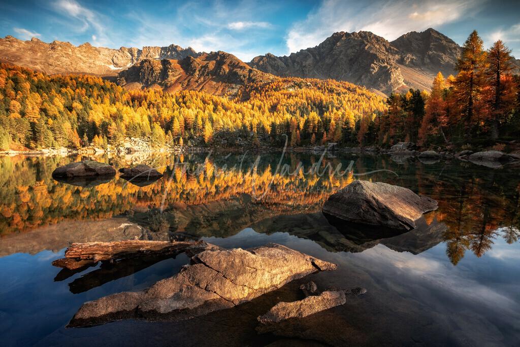 Herbst am Lago di Saoseo