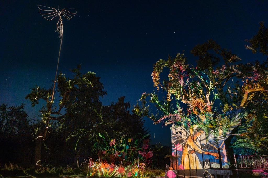 Bunter Abend 4 | Den Garten in ein Märchen verwandeln.Es bedarf nur  viele meiner Bilder, einen Photoapparat, 6 Projektoren, einen Kopf voll Ideen und einen Abend Zeit sie sichtbar zu machen. Diese Motive können sich auch zur Gestaltung von Postkarten, Einladungen oder Sprüchen eignen. - enjoy!