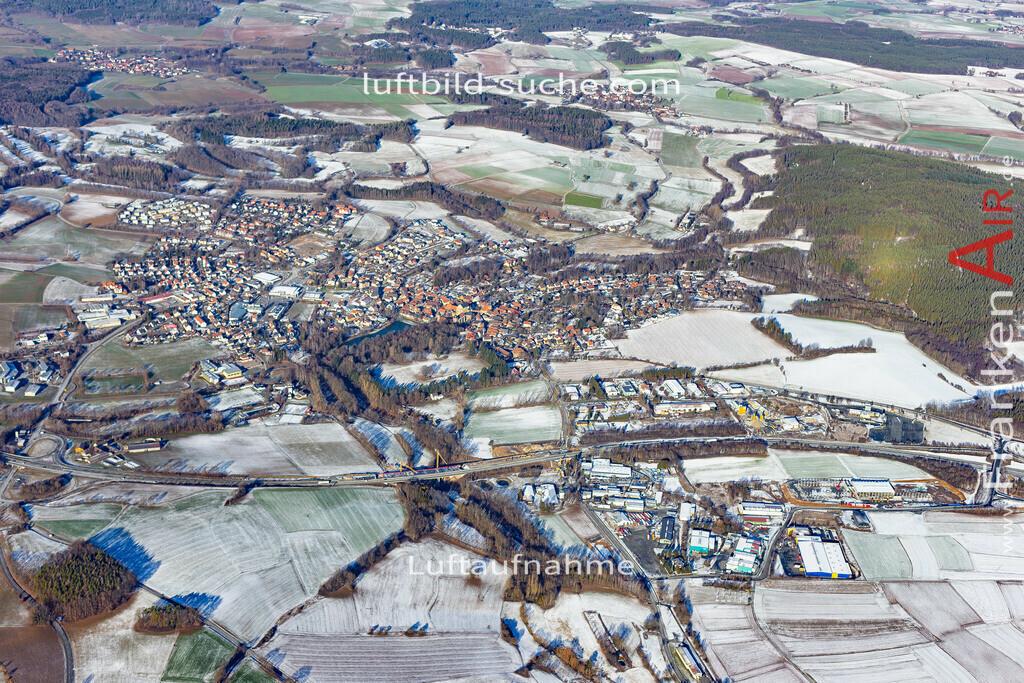 thurnau-19-154 | aktuelles Luftbild von  Thurnau - Luftaufnahme wurde 2019 von https://frankenair.de mittels Flugzeug (keine Drohne) erstellt.