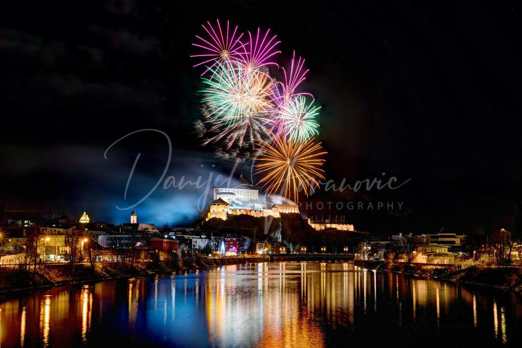 Kufstein Silvester | Das berühmte Vorsilvester in Kufstein mit Feuerwerk über der Festung