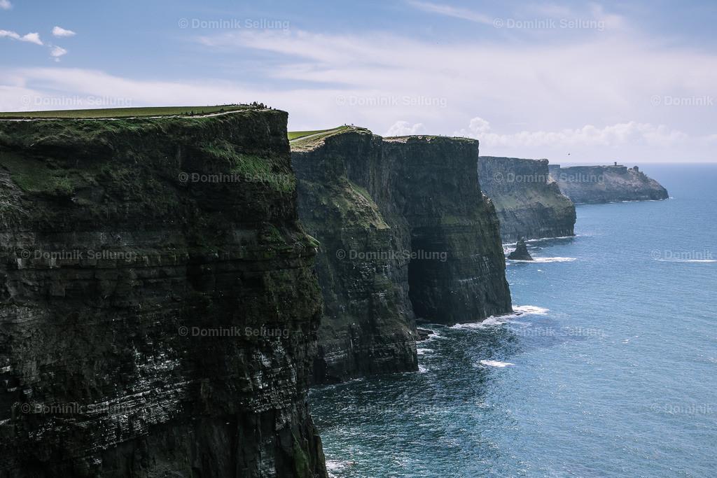 Kilrush | steile Klippen entlang einer langen Küste