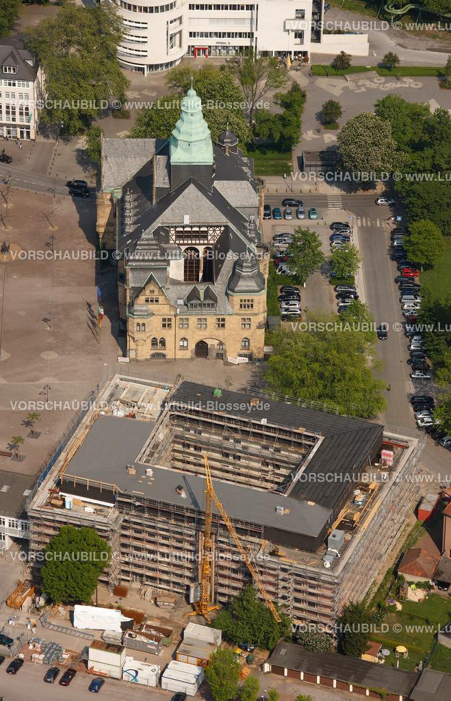 RE11046291 | Behoerdenhaus, Rathaus,  Recklinghausen, Ruhrgebiet, Nordrhein-Westfalen, Germany, Europa