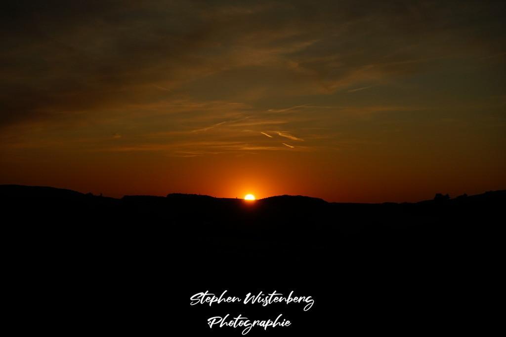Sunset Potzbach   Sonnenuntergang bei Potzbach