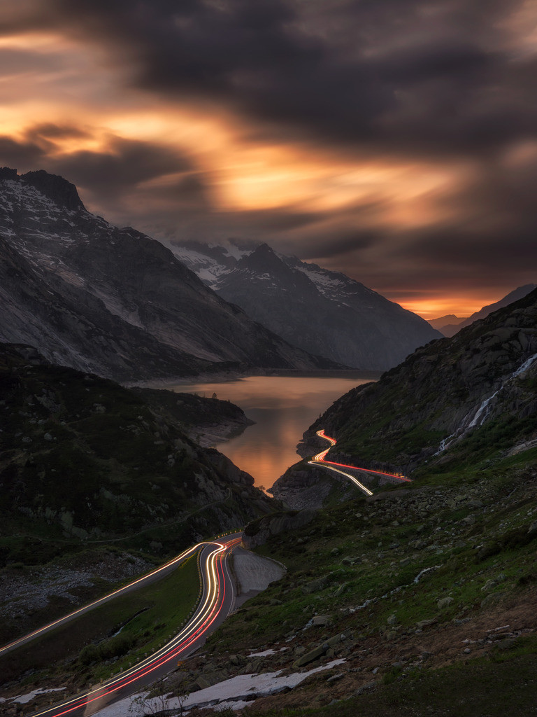 The Valley Beyond | The view over Grimsel Valley