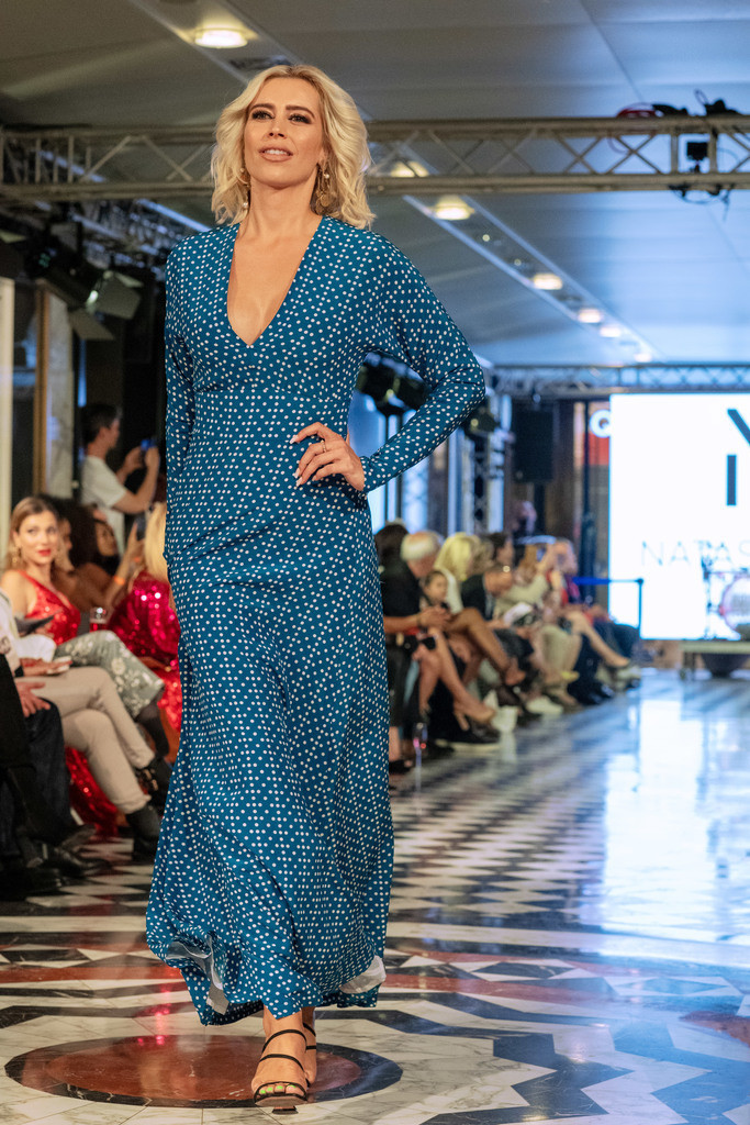 Pre-Opening der Fashion Week - Fashion Hall im Quartier 206   Verena Kerth präsentiert: NATASCHA GRUEN Ready to WEAR Kollektion