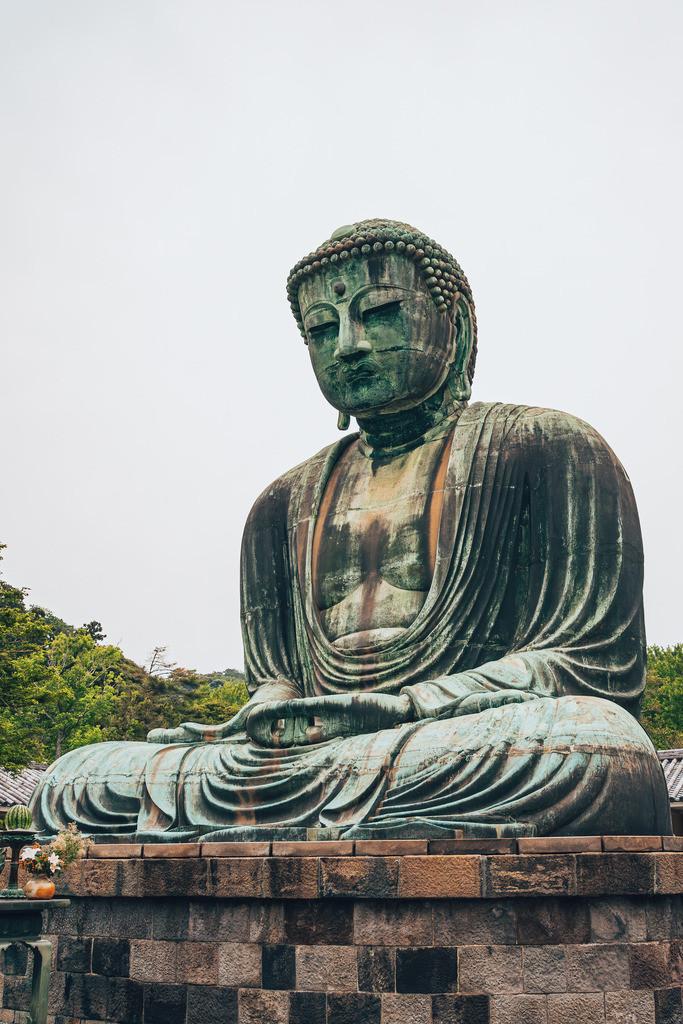 Japan Kamakura Great Buddha   Japan Kamakura Great Buddha